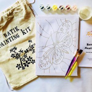 "9"" Batik Art Painting Kits"